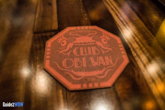 Club Obi Wan Coaster - Jock Lindsay Hangar Bar - Disney Springs