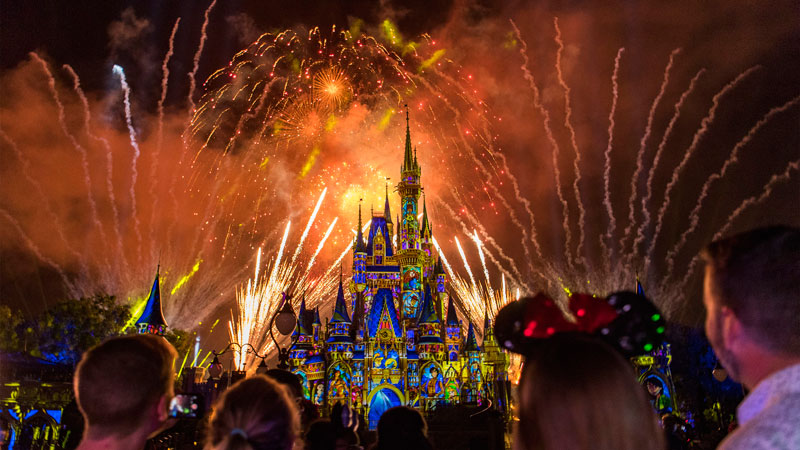 Disney World's Nighttime Spectaculars, Ranked