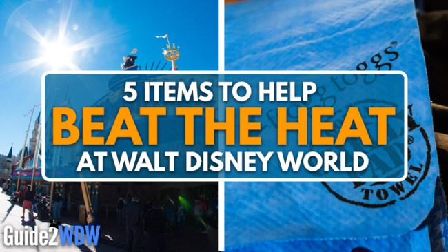 5 Items to Help Beat the Heat at Disney World