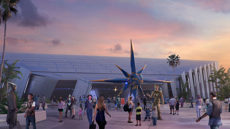 D23 Epcot News: Guardians of the Galaxy, Ratatouille Ride, Future World Overhaul, & more