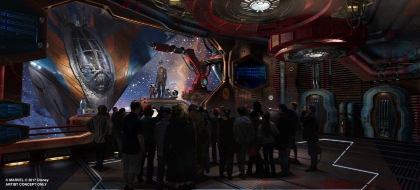 Guardians of the Galaxy Epcot Ride
