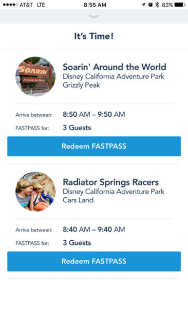 MaxPass Redemption Disneyland