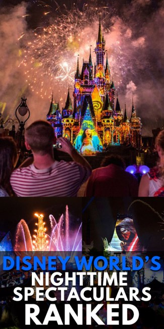 Disney World - Nighttime Spectaculars Ranked