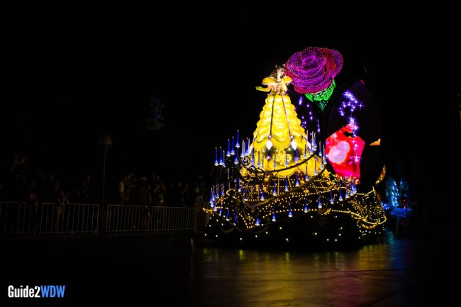 Paint the Night - Belle - Disneyland Parade