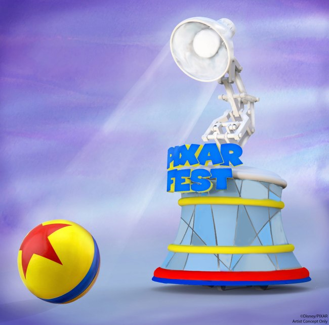 Pixar Play Parade Lamp
