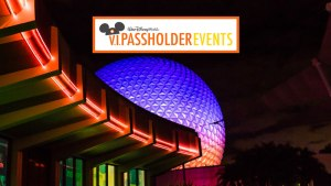 Epcot - VIPassholder Nights - Disney World