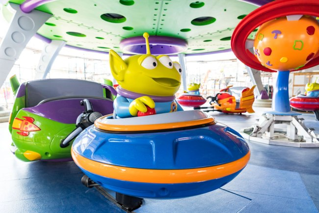 Aliens Swirling Saucers - Toy Story Land - Disney's Hollywood Studios - Walt Disney World