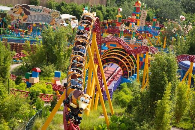 Slinky Dog Dash - Toy Story Land - Disney's Hollywood Studios - Walt Disney World