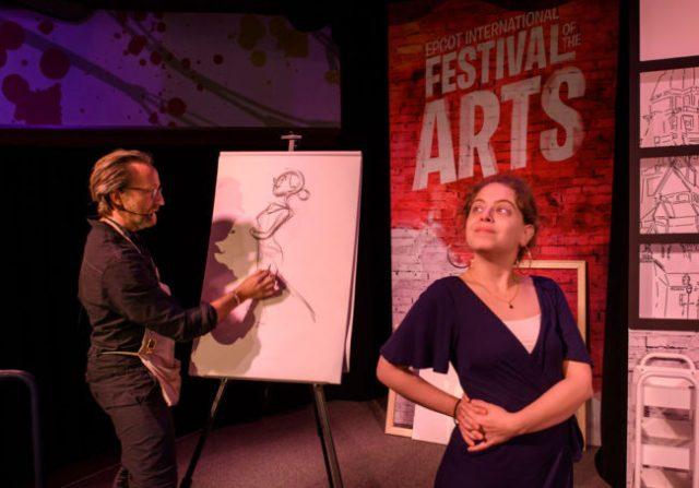 Workshop - Epcot Festival of the Arts - Disney World Activity