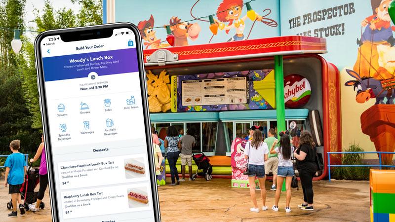 Disney World Restaurant Mobile Ordering - WDW Tip