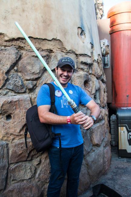 Lightsaber Complete - Savis Workshop - Galaxys Edge Star Wars Galaxys Edge- Disneyland- Guide2WDW