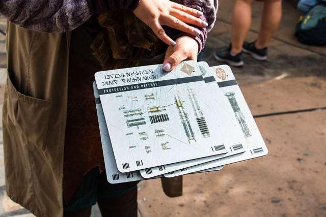 Protection and Defense Savi's Lightsaber Workshop - Star Wars Galaxy's Edge- Disneyland- Guide2WDW
