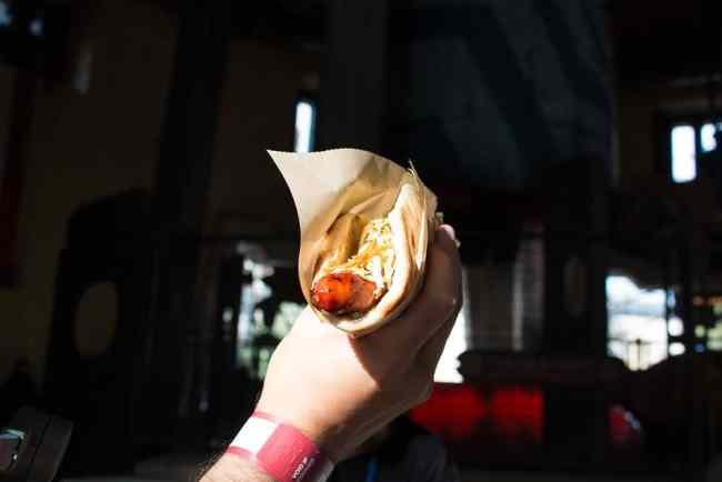 Ronto Wrap - Ronto Roasters Star Wars Galaxy's Edge- Disneyland Dining- Guide2WDW