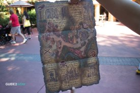 Map - A Pirate's Adventure – Treasure of the Seven Seas - Magic Kingdom Attraction