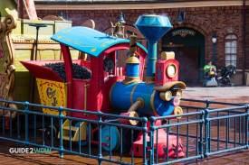 Casey Jr Splash and Soak Station - Magic Kingdom - Train Closeup