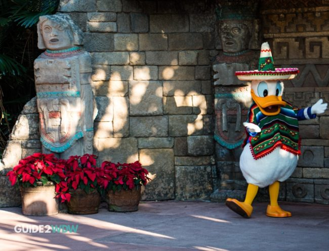 Donald Duck - Mexico - Epcot Character Meet and Greet-2