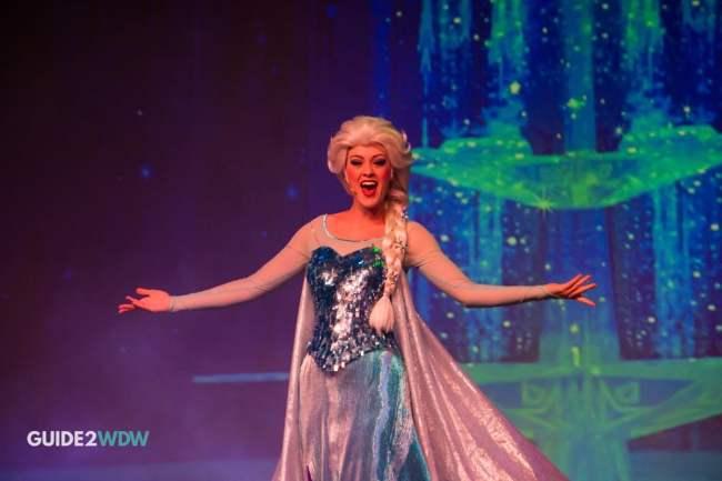 Elsa - Frozen Sing Along - Disney's Hollywood Studios Attraction - Disney World