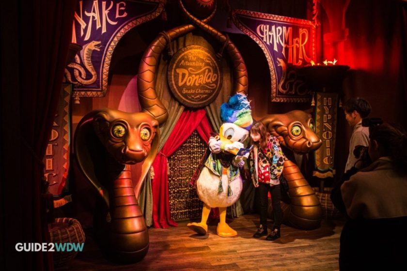 Meet the Astounding Donaldo Magic Kingdom Meet and Greet Character
