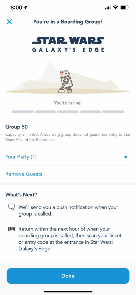 Join a Boarding Group - Disney World and Disneyland