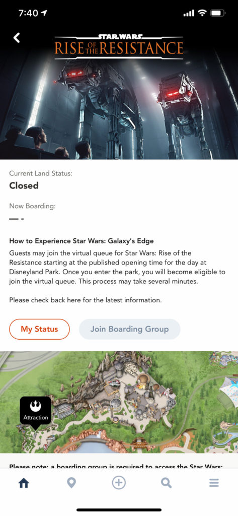 Rise of the Resistance Info Page