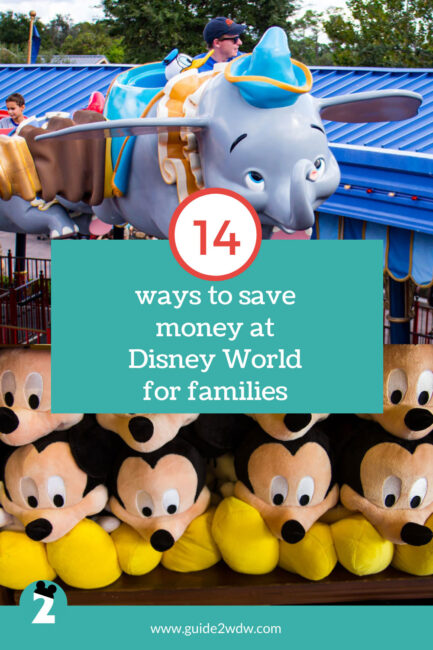 14 Ways To Save Money at Disney World with Kids - Graphic
