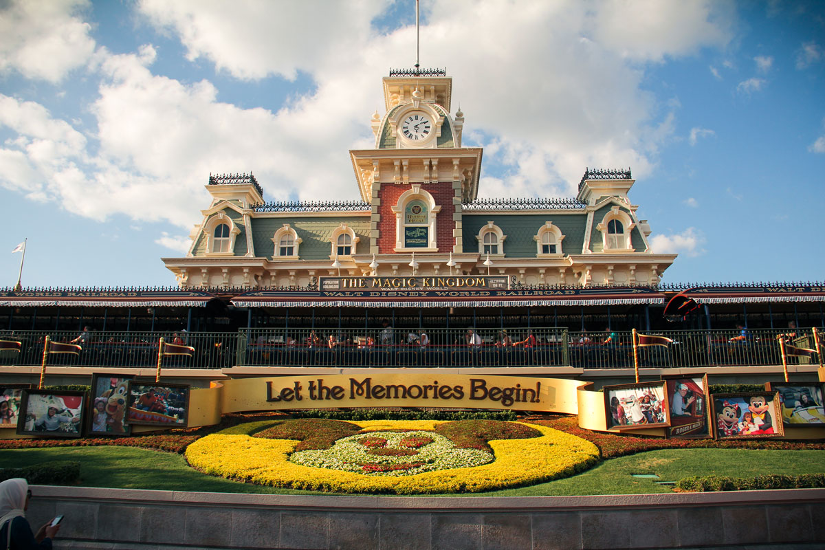 How to get to Magic Kingdom