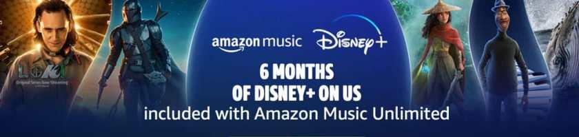 Disney+ Amazon Promo