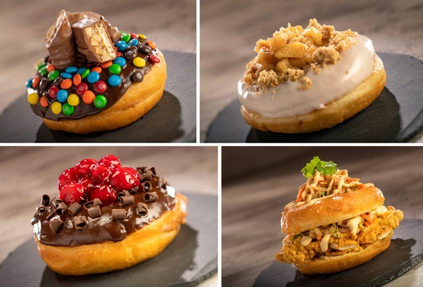 The Donut Box - 2021 Epcot Food & Wine Festival Menus