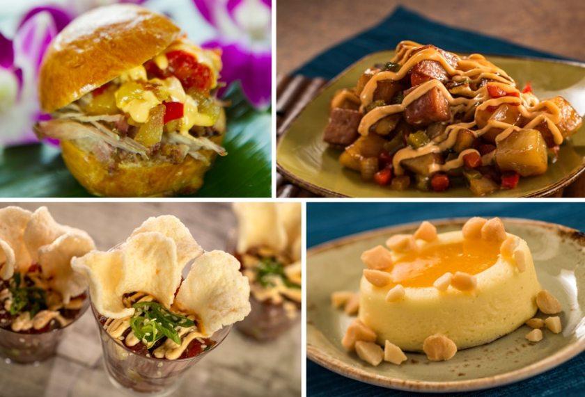 Hawaii- 2021 Epcot Food & Wine Festival Menus