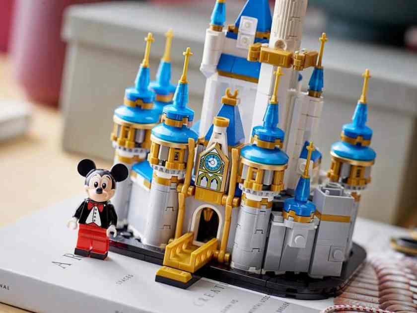 Disney Lego Mini Castle - 50th Anniversary Set