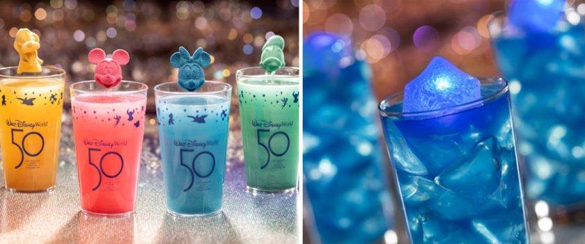 Disney World 50th Anniversary Desserts - Food Guide - Beverages