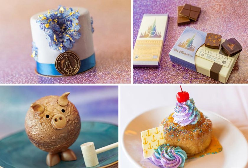Disney World 50th Anniversary Desserts - Food Guide - Disney Springs