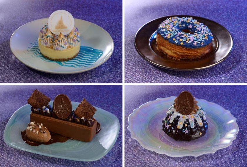 Disney World 50th Anniversary Desserts - Food Guide - Epcot