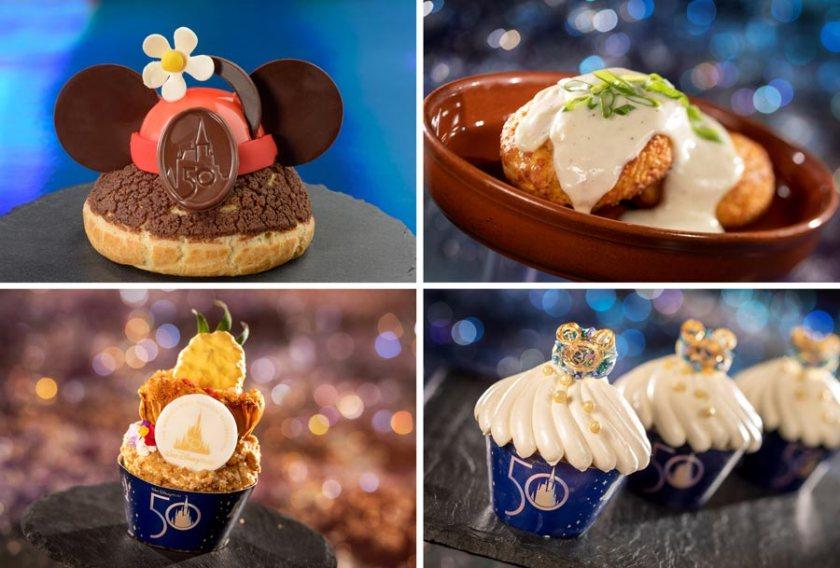 Disney World 50th Anniversary Desserts - Food Guide - Resorts