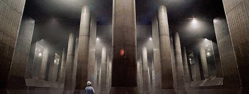 G-cans - Le temple de béton souterrain
