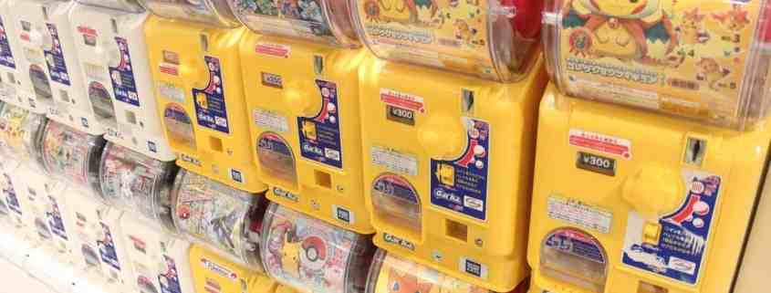 Pokemon Go, Non! Gacha Gacha - Le jouet rural du Japon