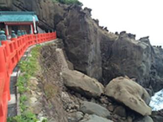 鵜戸神宮の亀岩横