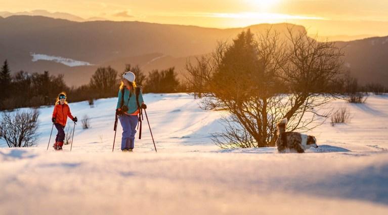 Ski de randonnée en famille Vercors
