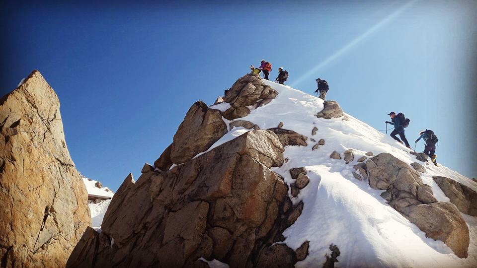 Les cosmiques course alpinisme Chamonix Mont Blanc
