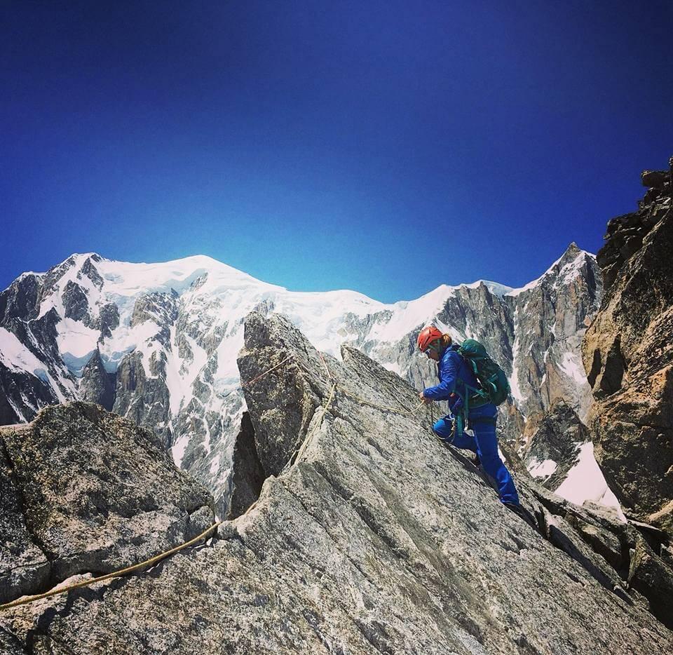 La Tour Ronde Course Alpinisme Massif du mont Blanc