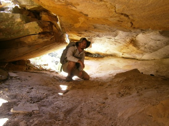 Hiking, or caving? It's a bit of both!