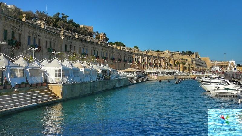 valletta waterfront croisière malte arrivee