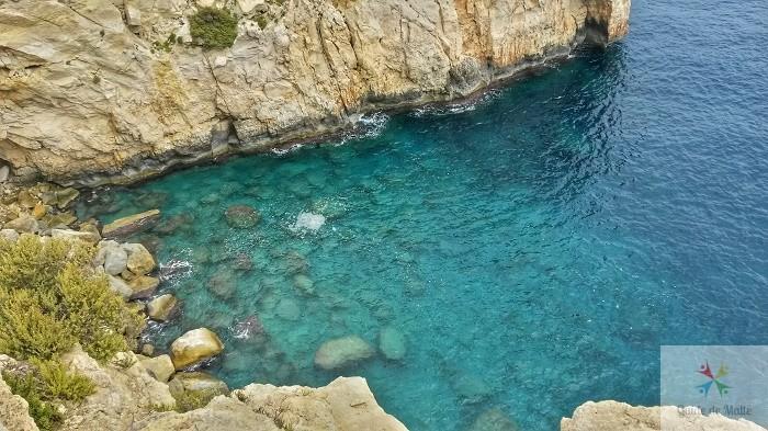 sud de malte falaises