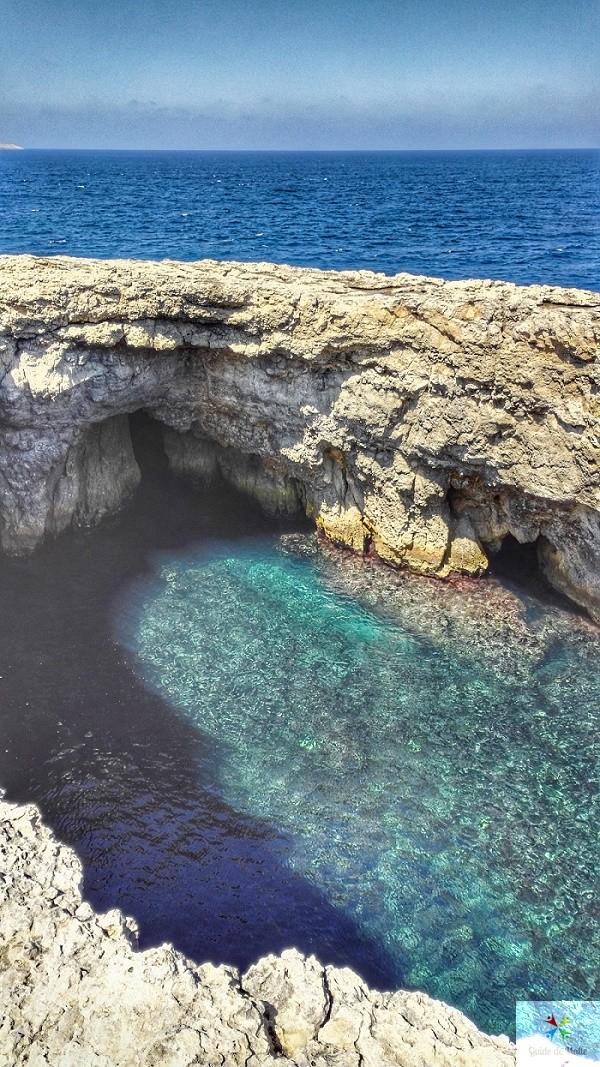 lagon coral lagoon malte visiter