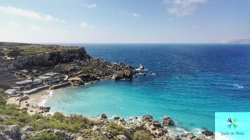 paradise bay malte vue mer