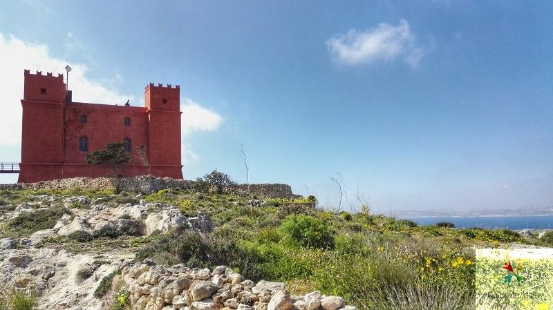 red tower malte visite
