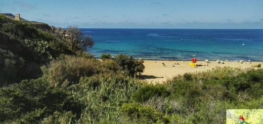 golden bay plage malte