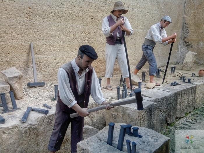 coupe d époque pierre de taille maltaise
