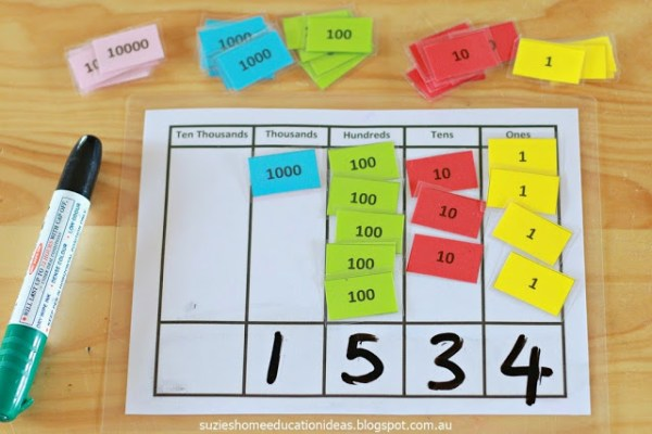 guided math second grade place value hands on activity picture 3