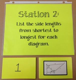 Guided Math in Middle Schools stations